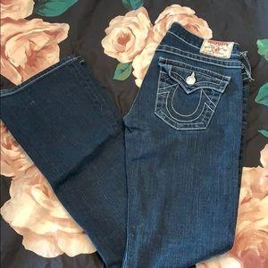 Size 27 true religion Becky jeans